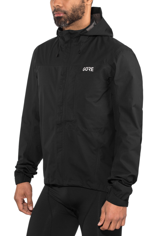 60176589 GORE WEAR C3 Gore-Tex Paclite Jakke Herrer sort | Find cykeltilbehør ...